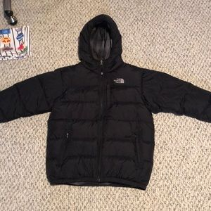 Reversible North Face winter coat